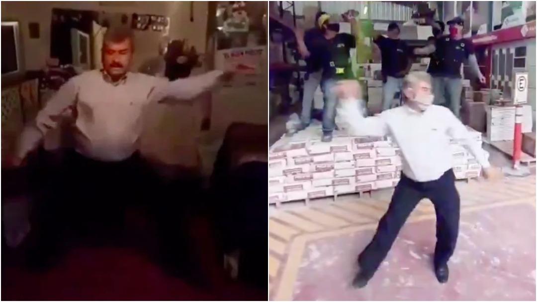 Lobo Vásquez Bailando Tienda Pisos