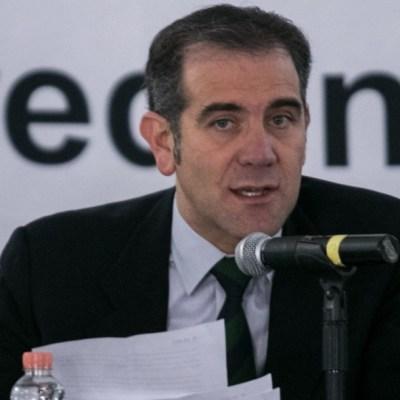 Lorenzo Cordova, presidente Consejero del INE