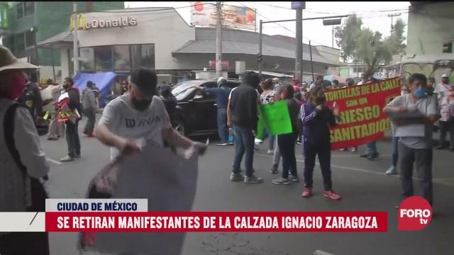 manifestantes liberan zaragoza en cdmx