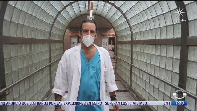 medico mexicano salvo a cientos de sirios heridos