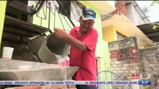 miles de habitantes en acapulco padecen escasez de agua