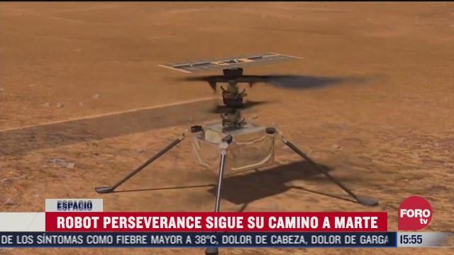 FOTO: 1 de agosto 2020, mision perseverance continua en ruta hacia marte