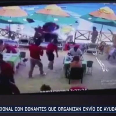 Moto acuática embiste a comensales en  Baja California Sur