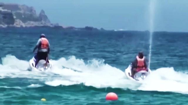 Suspenden a empresa de renta de motos acuáticas tras accidente en Cabo San Lucas