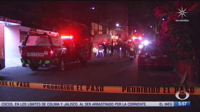muere hombre durante incendio en la colonia ajusco cdmx