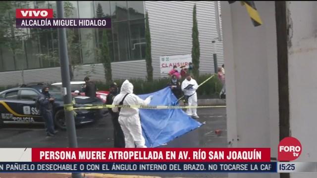 FOTO: 1 de agosto 2020, muere hombre tras ser atropellado por camion de limpia en rio san joaquin