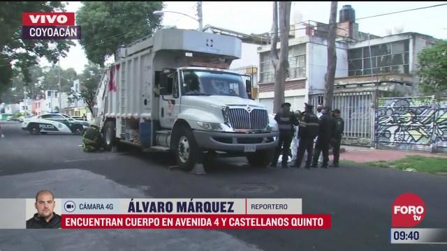 muere recolector de basura atropellado por el mismo camion