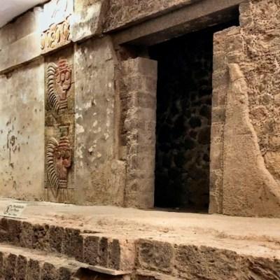 Mural en el complejo arquitectónico de Quetzalpapálotl, Teotihuacán