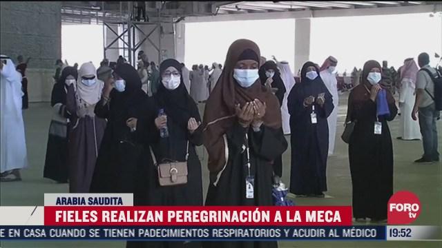 FOTO: 1 de agosto 2020, musulmanes realizan peregrinacion a la meca