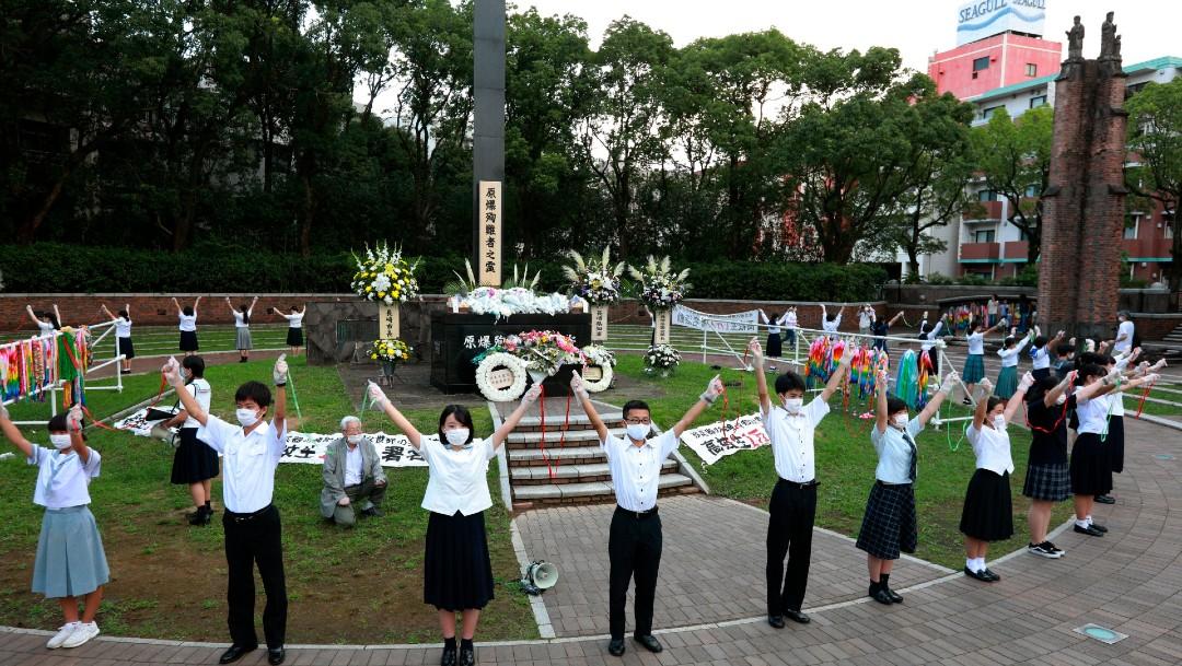 Nagasaki pide a potencias nucleares que abran camino a mundo sin esas armas