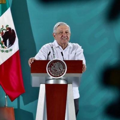 López Obrador en conferencia matutina desde Nayarit