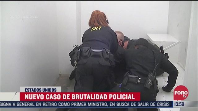 nuevo caso de brutalidad policiaca en carolina del norte eeuu
