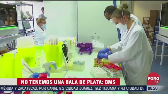 oms advierte que quizas no hay solucion a coronavirus