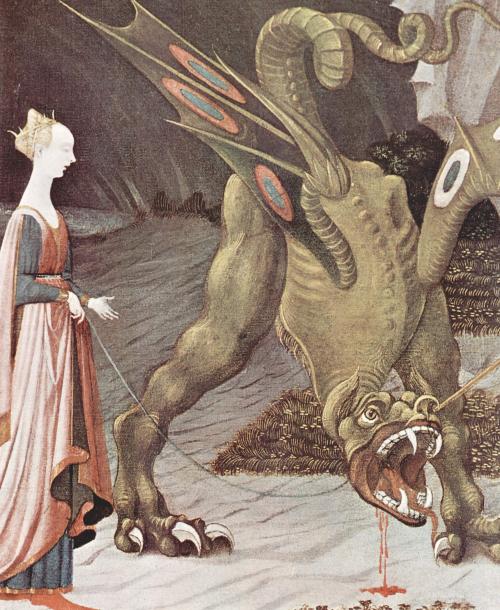 Pintura de un dragón