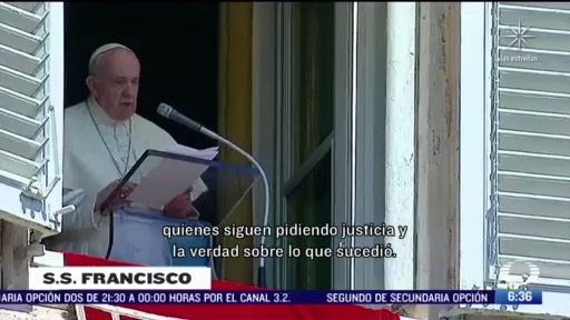 papa francisco recuerda a migrantes de san fernando tamaulipas