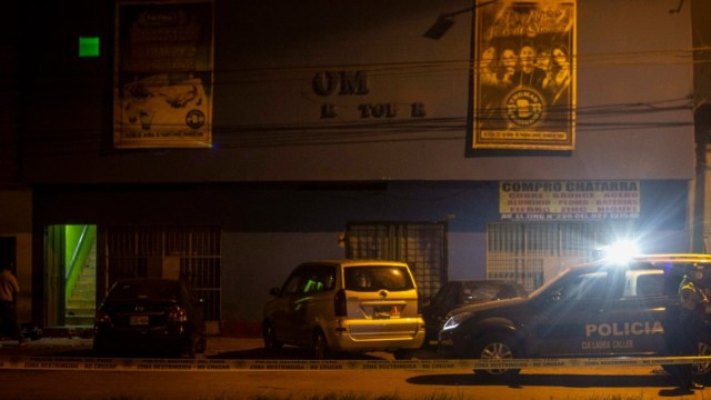 perito en discoteca de Perú