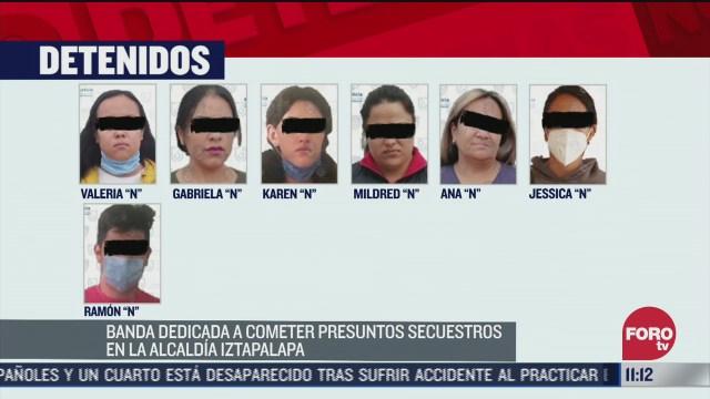 policias de edomex y cdmx desmantelan banda de secuestradores