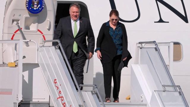 Pompeo visita Polonia con Bielorrusia y las tropas de EEUU en la agenda
