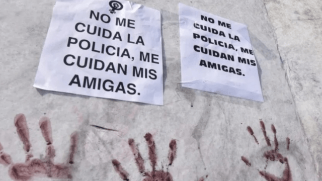 Caso Evelyn, protestas por abuso sexual de policías
