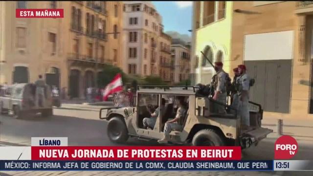 protestas en libano dejan mas de 200 lesionados