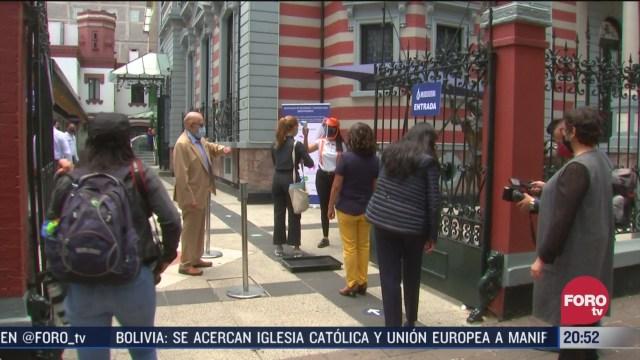Reabren museos de CDMX bajo estrictas medidas sanitarias tras la pandeia de coronavirus