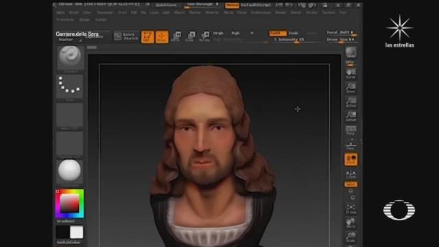 Reconstruyen en 3D el rostro del pintor italiano Rafael