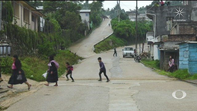 agresiones y enfrentamientos de grupos armados en Aldama en Chiapas