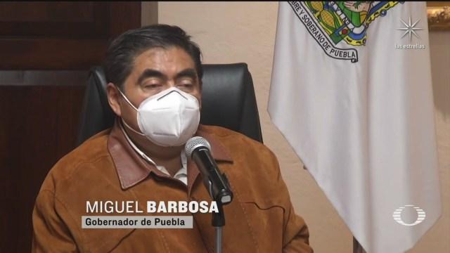 Miguel Barbosa uno de los implicados responden tras la filtración de la denuncia de Emilio Lozoya