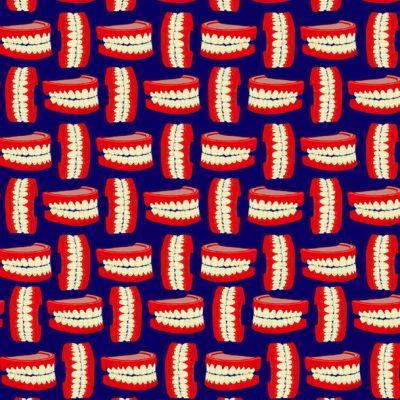 Encuentra las dentaduras abiertas y a las que les faltan dientes