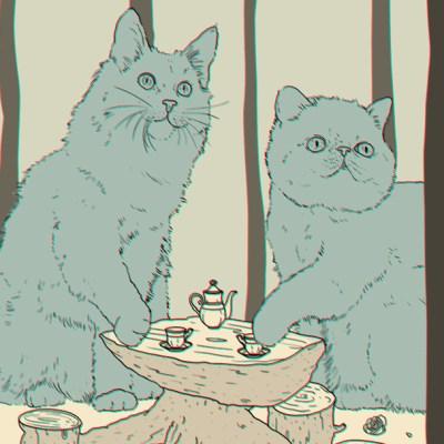 Reto visual: Escondimos 4 animales y un ojo en la imagen, ¿los puedes encontrar?