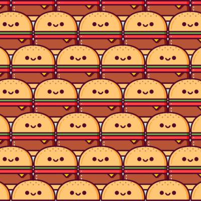 Tres hamburguesas son distintas a las demás, ¿puedes encontrarlas?