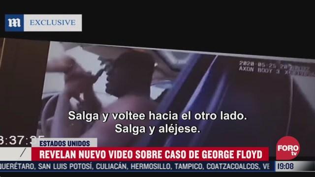Video de la cámara del policía que mató a George Floyd