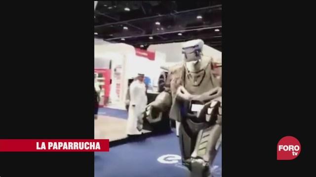 robot guardaespaldas en Dubai