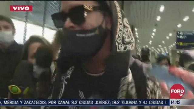 ronaldinho regresa a brasil tras seis meses en prision de paraguay
