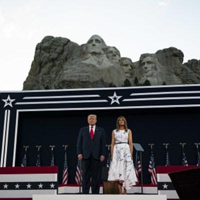 Trump se compara con Washington y Lincoln: quiere que su cara esté en el monte Rushmore