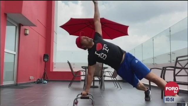 rutina de ejercicio con ulises de la torre del 6 de agosto del