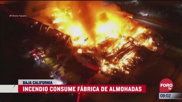 se registra incendio en fabrica de plasticos en texas