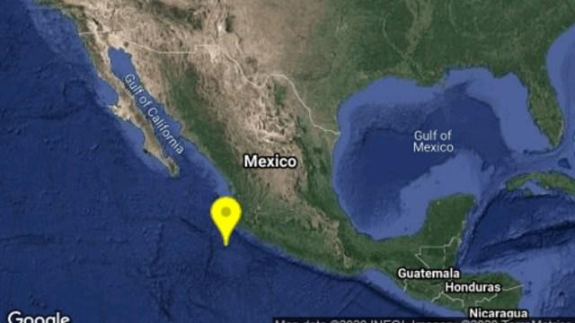 Se registra sismo en Cihuatlán, Jalisco