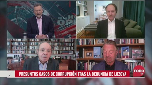 Leo Zuckermann, Héctor Aguilar Camín, Jorge Castañeda y Javier Tello analizan los presuntos casos de corrupción por la filtración de la denuncia de Emilio Lozoya