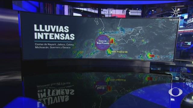 pronostico de lluvias para mañana tormenta tropical numero 26 ocasiona lluvias en al menos 6 estados