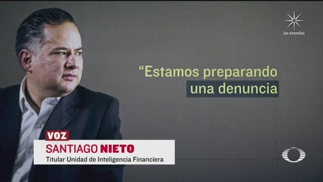 Santiago Nieto títular de la UIF alista quinta denuncia contra Emilio Lozoya