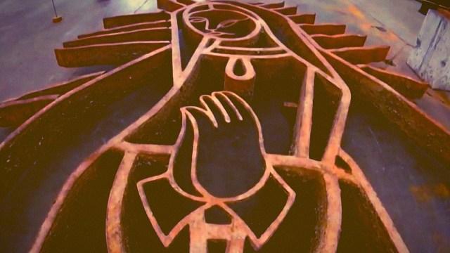 Recuperan a la Virgen de Guadalupe desaparecida una década en el Río Santa Catarina, en Monterrey