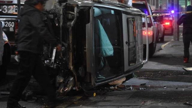 Volcadura-de-camioneta-deja-tres-muertos-en-Coahuila