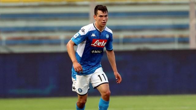 Hora del partido del Napoli y Chucky Lozano en la jornada 1 de la Serie A 2020-2021