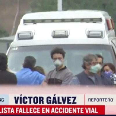 Muere motociclista tras impactarse contra estructura en Avenida de los Poetas, CDMX