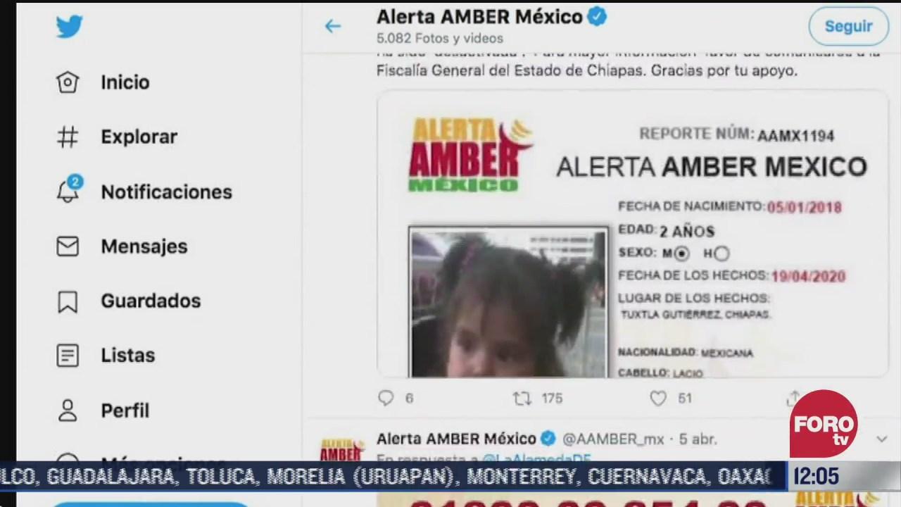 alerta amber ha logrado la recuperacion de decenas de menores desaparecidos