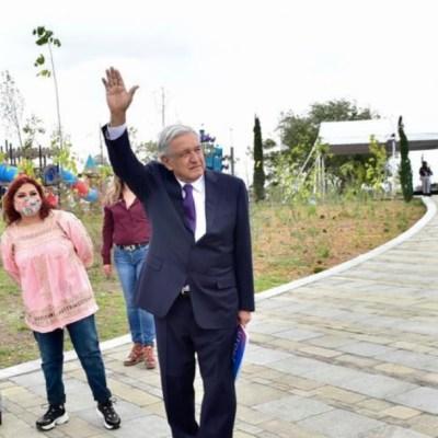 AMLO promete atender crisis de agua en Iztapalapa en inauguración de Parque Cuitláhuac
