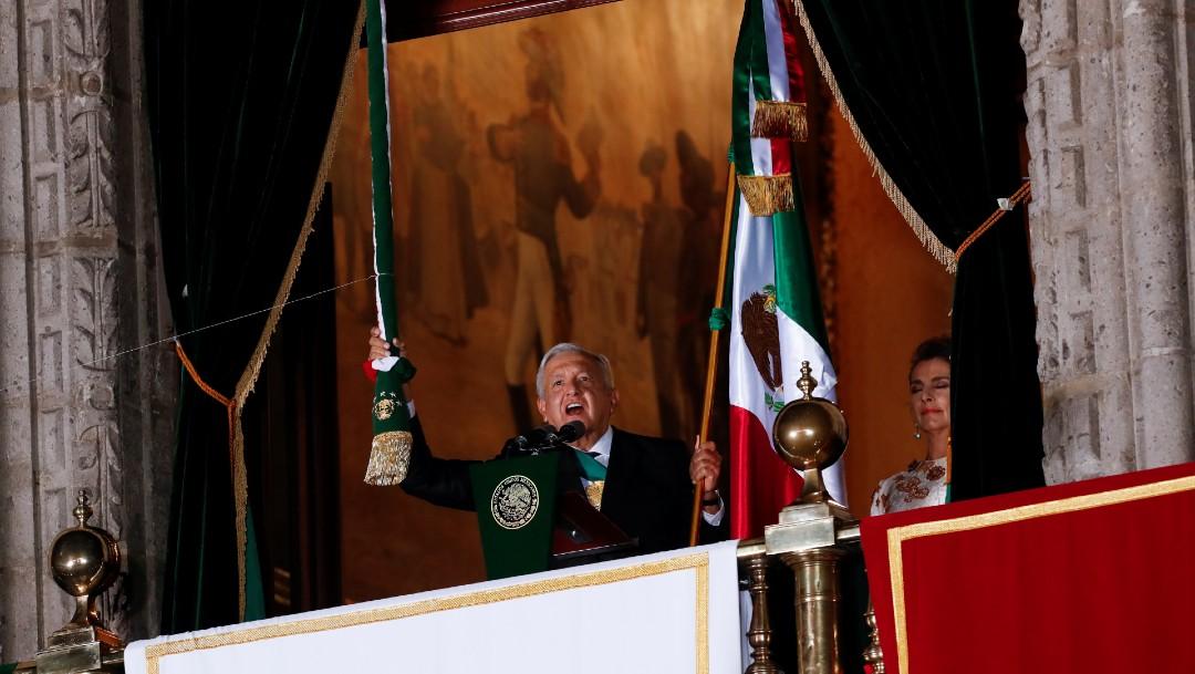 AMLO encabeza ceremonia del Grito de Independencia en el Zócalo de la CDMX