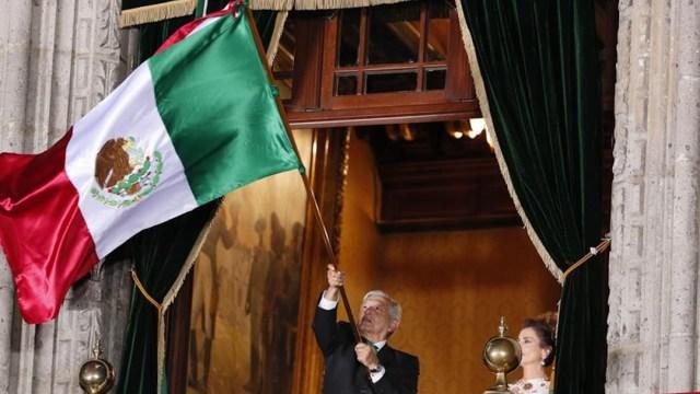 Estos fueron los 20 vivas de AMLO en su segundo Grito de Independencia