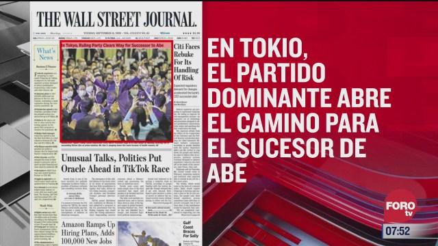 analisis de las portadas nacionales e internacionales del 15 de septiembre del